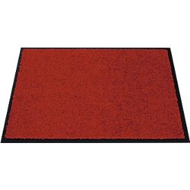 Felpudo atrapasuciedad, 400 x 600mm, rojo