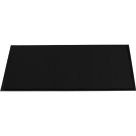 Felpudo atrapasuciedad, 600 x 900mm, negro