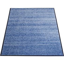 Felpudo atrapasuciedad, 900 x 1500mm, azul