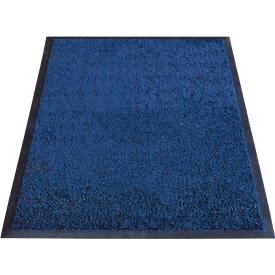 Felpudo atrapasuciedad Karaat, nailon High Twist, 600 x 850mm, azul