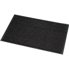 Felpudo de microfibra, An 1200 x L 2400mm, lavable a 30grados, gris