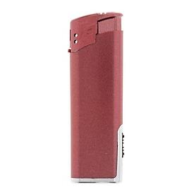 Feuerzeug EB-15 LED Metallic, Rot, Standard, Auswahl Werbeanbringung erforderlich