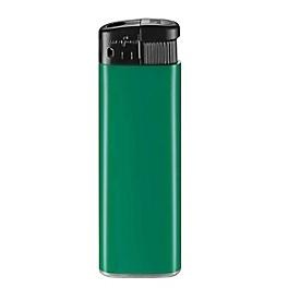 Feuerzeug, M-8, elektronisch, Grün/Schwarz, Standard, Auswahl Werbeanbringung erforderlich