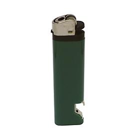 Feuerzeug NM-1 OP, Grün, Standard, Auswahl Werbeanbringung erforderlich