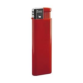 Feuerzeug, Promo, nachfüllbar, Rot, Standard, Auswahl Werbeanbringung optional