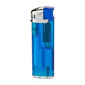 Feuerzeug QM-506, Blau, Standard, Auswahl Werbeanbringung erforderlich