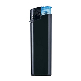 Feuerzeug-Set, Black, 50-tlg. - nachfüllbar, farbl. sortiert, Auswahl Werbeanbringung optional