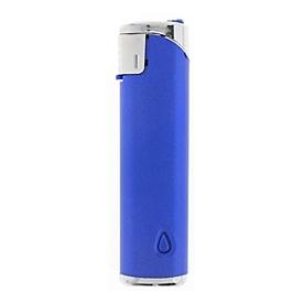 Feuerzeug SM-5 LED Metallic, Blau, Standard, Auswahl Werbeanbringung erforderlich