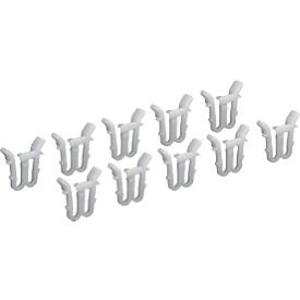 Fixeerklemmen voor deksel voor Euronorm bakken, 10 stuks