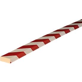 Flächenschutz Typ D, 1-m-Stück, weiß/rot