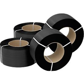 Fleje de polipropileno, anchura 12,7mm, 0,5mm x 2800m (4 rollos)