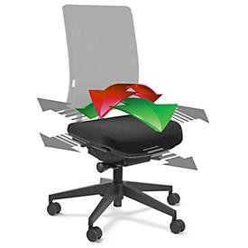 Flexsitzfläche, für Bürostuhl SSI Project, arretierbar, für aktiv bewegtes Sitzen