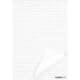 Flipoverblokken, 70 g/m², geruit, 5 stuks