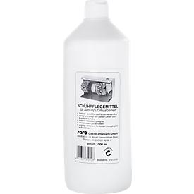 Flüssige Schuhpolitur für Schuhputzmaschinen, 1 Liter