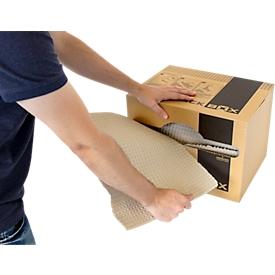 FORMPACK BOX, Papel de embalaje, 100% reciclado, 125 g/m2, 55 m, 300 x 400 x 300 mm