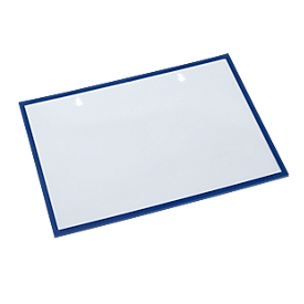 Formular-/Dokumententasche, magnethaftend, 10 Stück, blau