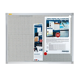 Franken prikbord Pin'n'Mag X-tra, textiel, 600 x 450 mm