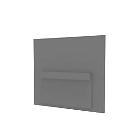 Frontpanelen bureau voor basic C, grafiet
