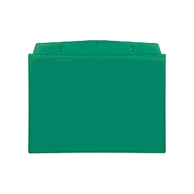 Fundas magnéticas Orgatex, A6 transversal, verde, 50 uds.