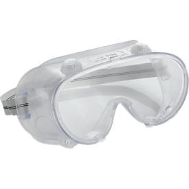Gafas de visión completa con ventilación indirecta