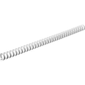GBC® Click-Binderücken ibico, 8 mm, 50 Stück, weiß