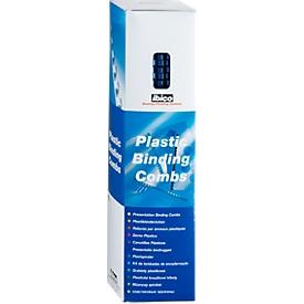 GBC® inbindruggen, plastic, Ø 8 mm, 100 stuks, blauw