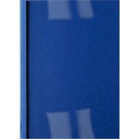 GBC® thermo-inbindmap Business Line leder ibico, 4 mm, donkerblauw