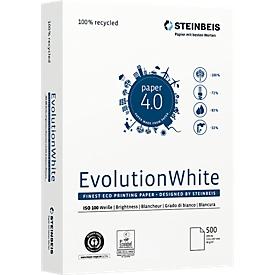 Gerecycleerd papier Steinbeis EvolutionWhite, A4, 80 g/m², naturel, 10 x 500 vellen