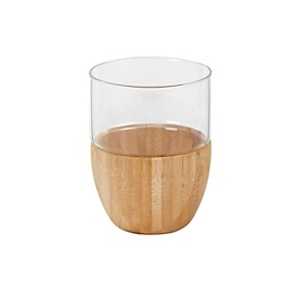 Glas Bambus, Standard, Auswahl Werbeanbringung optional