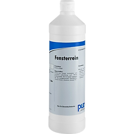 Glasreiniger PUDOL, met alcohol, jerrycan, 6 flesjes van 1 liter