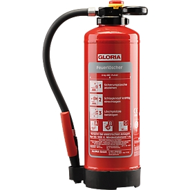 GLORIA Extintor de polvo P6PRO