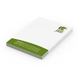 Haftnotizen, 5 x 7,2 cm, Standard, Standard, Auswahl Werbeanbringung erforderlich