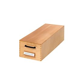 HAN kaartenbak, hout, A7, 1000-1500 kaarten
