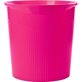 HAN prullenbak Loop, 13 liter, Modern design in Trend Colour, roze