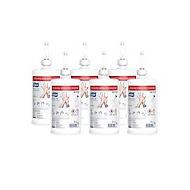 Handdesinfectiegel TORK® Premium, bacteriedodend/ schimmeldodend/ beperkt virucidaal, VAH-lijst, voor TORK® desinfectieautomaat, 6 pompflessen à 1 l