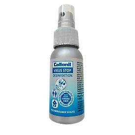 Handdesinfektionsspray Collonil, gegen Bakterien, Pilze & begrenzt gegen Viren, oberflächenaktiv, Pumpflasche, 50 ml