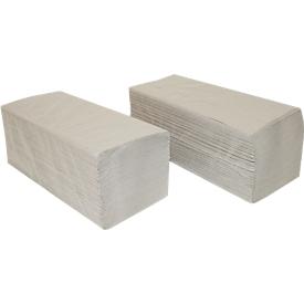Handdoeken SCHÄFER SHOP, 1-laags, zigzagvouwen, 1-laags, L 250 x B 230 mm, scheurvast, 5000 vellen, natuurkleur