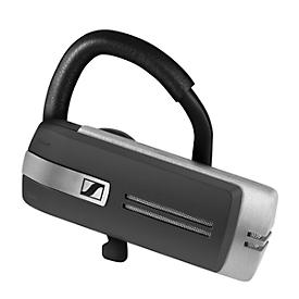 Headset Sennheiser Presence Grey UC, Bluetooth/USB, monaural, Ohrbügel + 4 Ohradapter, USB-Kabel & Transportbox