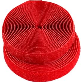 HellermannTyton klittenband, b 12 x l 1000 mm, rood