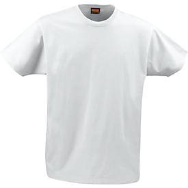 Heren T-shirt Jobman 5264 PRACTICAL, SE 14-218, wit, L