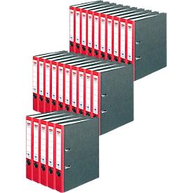herlitz Ordner maX.file nature, DIN A4, Rückenbreite 50 mm, 25 Stück, rot