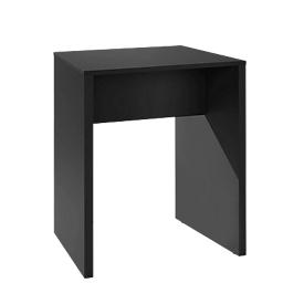 Hochtisch POINT, B 1000 mm, schwarz