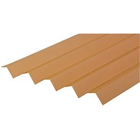 Hoekbeschermstroken van massief karton, 700 x 35 x 35 x 3,0 mm, 25 stuks