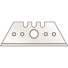 Hoja trapezoidal MARTOR 5232, 10 piezas, L 53 x A 19 mm, acero, espesor del material 0,63 mm
