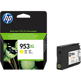 HP inktpatroon Nr. 953XL geel (F6U18AE)