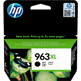 HP inktpatroon Nr. 963XL, zwart (3JA30AE)