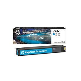 HP printcartridge nr. 973 X Original PageWide cyaan (F6T81AE)