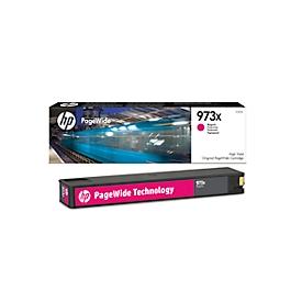 HP printcartridge nr. 973 X Original PageWide magenta (F6T82AE)