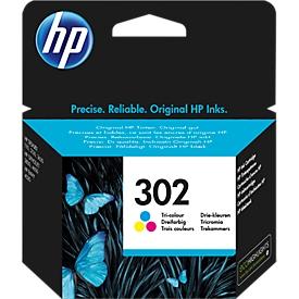 HP Tintenpatrone Nr. 302 color (F6U65AE), original