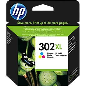 HP Tintenpatrone Nr. 302XL color (F6U67AE), original